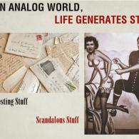 An Analog World Generates Stuff
