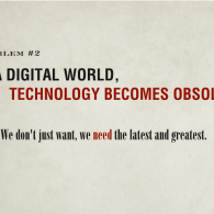Technology Becomes Obsolete