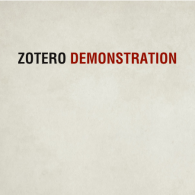 Zotero Demo