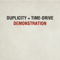 Time Drive + Duplicity Demonstration