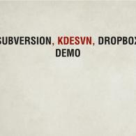VCS Demo