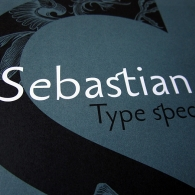 Sebastian Type Specimen 1