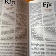 JBW Typeface Specimen 6