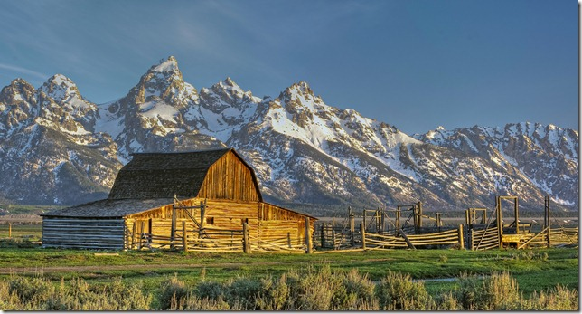 John Moulton Barn - Mormon Row - Grand Teton National Park