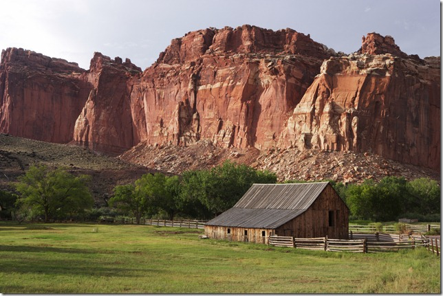 Utah Farm near Capitol Reef National Park