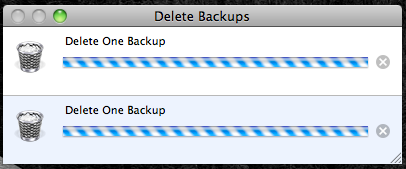 Time Machine - Delete Backups 4