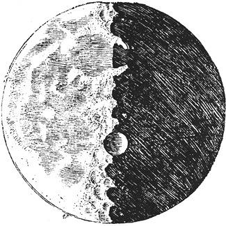 Galileo Moon Sketches - Half Full 4