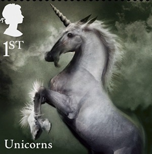 McKean Stamps - Unicorn
