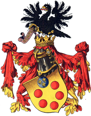 D'Medici Family Coat of Arms