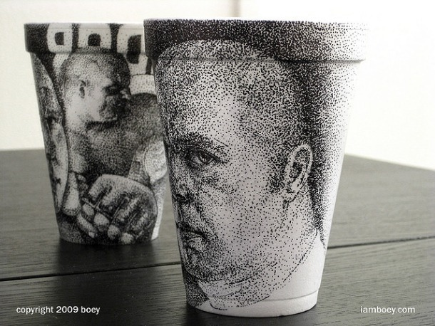 Coffee Cup Art 1