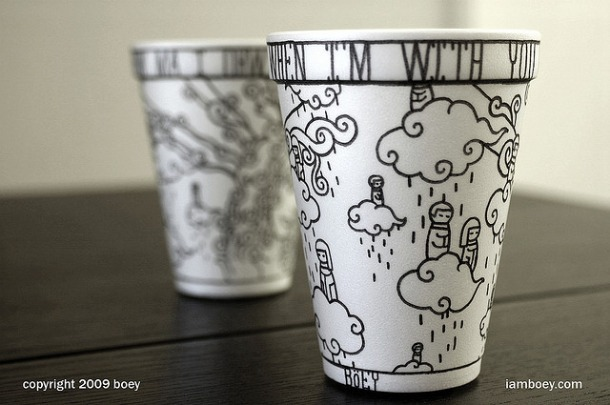 Coffee Cup Art 2