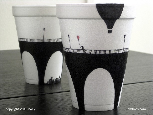 Coffee Cup Art 3