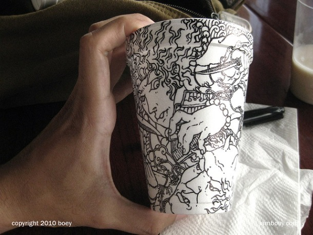 Coffee Cup Art 4