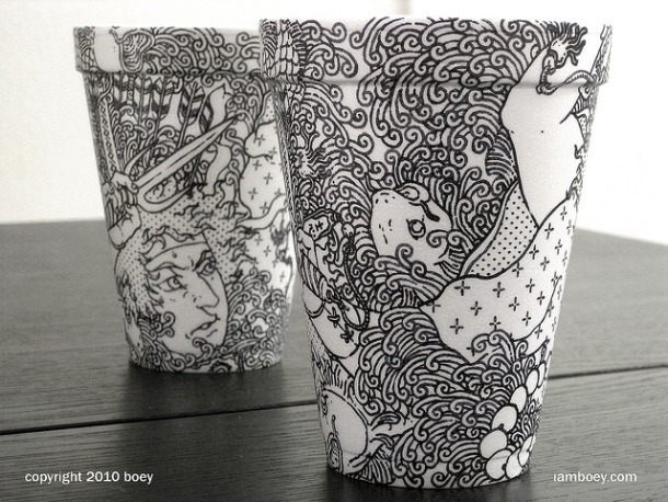 Coffee Cup Art 5