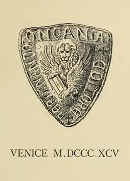 Venice City Crest - 1895