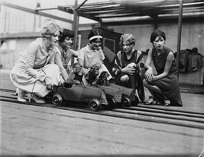 Monkeys and Tiny Cars