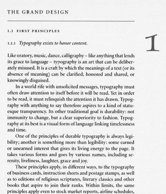 The Elements of Typographic Style - Marginal Notes