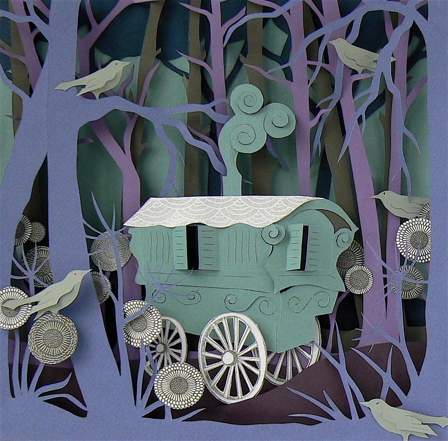 Helen Musselwhite - Gypsy caravan