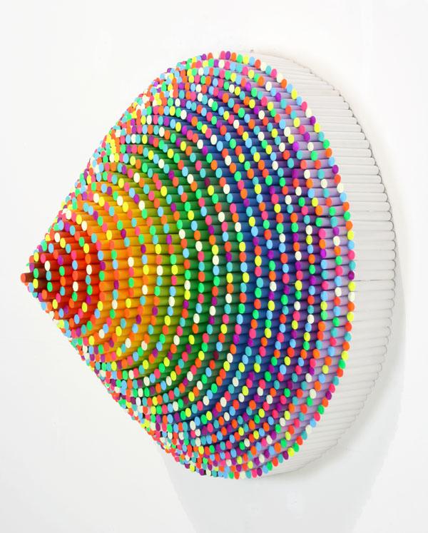 Jen Stark - Pixelated