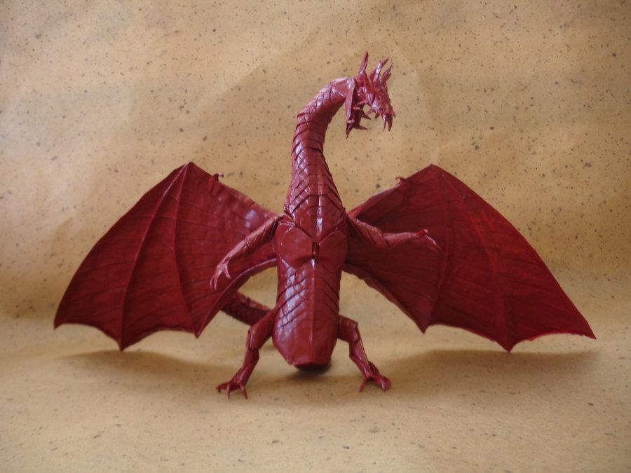 Origami Artist Galen - Dragon