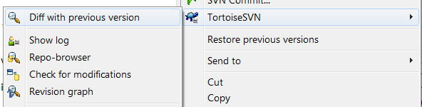 TortoiseSVN allows you to look at the differences for many types of files, not just text documents.
