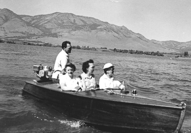 Grandpa Stillman's Mahogany Boat
